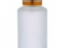 ROUND FROSTED GLASS BOTTLES-SO-040