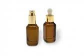 SQUARE GLASS DROPPER BOTTLES-EVT-018