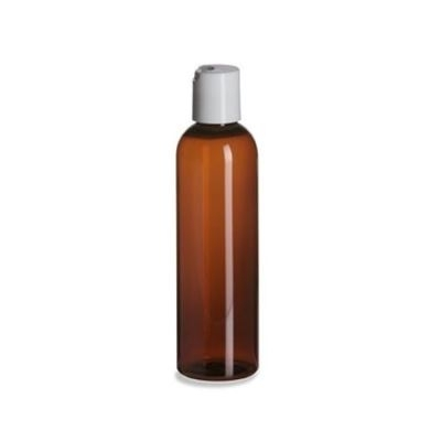 AMBER PLASTIC BOTTLE SO-048