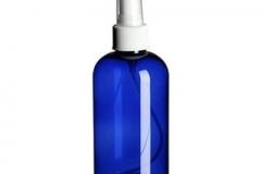 COBALT BLUE PLASTIC BOTTLE SO-065