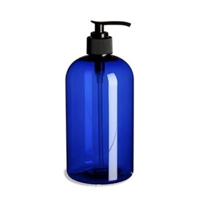 BLUE PLASTIC BOTTLE SO-044