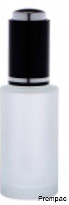 LY-049-ROUND GLASS SERUM DROPPER BOTTLES