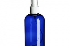 COBALT BLUE PLASTIC BOTTLE SO-065