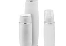 WHITE PLASTIC BOTTLE EVT-055